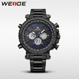 Weide Jam Tangan Digital Analog - WH6305 - Black Blue