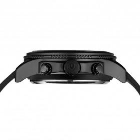 Weide Jam Tangan Analog Digital Strap Silicone - WH6306PR - Black/Blue - 7