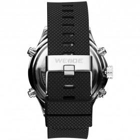 Weide Jam Tangan Analog Digital Strap Silicone - WH6306PR - White - 6