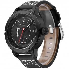 Weide Jam Tangan Sporty Pria - UV1609 - Black/Black - 2