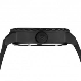 Weide Jam Tangan Sporty Pria - UV1609 - Black/Black - 5