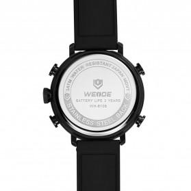 Weide Jam Tangan Analog Digital Pria - WH6106 - Black/Red - 5