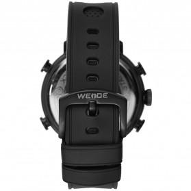 Weide Jam Tangan Analog Digital Pria - WH6106 - Black/Blue - 4