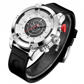 Weide Jam Tangan Analog Digital Pria - WH6301 - Black White - 2