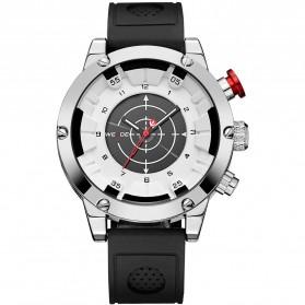 Weide Jam Tangan Analog Digital Pria - WH6301 - Black White - 3