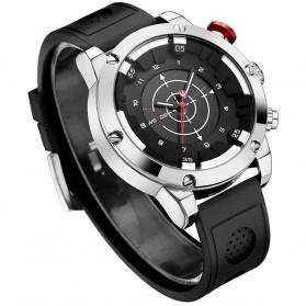 Weide Jam Tangan Analog Digital Pria - WH6301 - Black/Silver