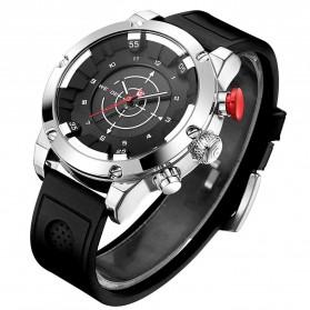 Weide Jam Tangan Analog Digital Pria - WH6301 - Black/Silver - 2