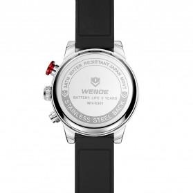 Weide Jam Tangan Analog Digital Pria - WH6301 - Black/Silver - 5