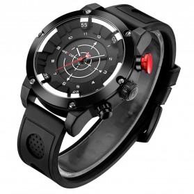 Weide Jam Tangan Analog Digital Pria - WH6301 - Black/Black - 2