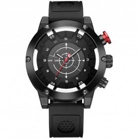 Weide Jam Tangan Analog Digital Pria - WH6301 - Black/Black - 3