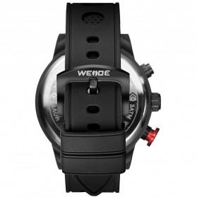 Weide Jam Tangan Analog Digital Pria - WH6301 - Black/Black - 4