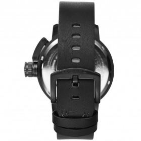 Weide Jam Tangan Sporty Pria - UV1606 - Black/Black - 4