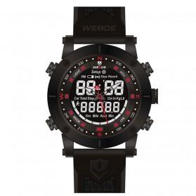 Weide Jam Tangan Analog Digital Pria - WH6309 - Black/Red