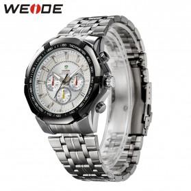 Weide Jam Tangan Analog Digital Pria - WH1011 - Silver Black - 6