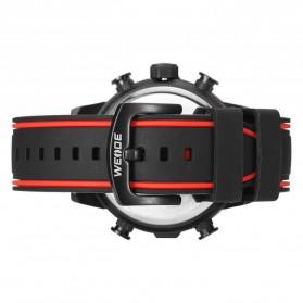 Weide Jam Tangan Analog Digital - WH6310 - Black/Red - 5