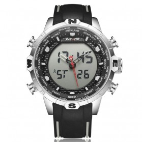 Weide Jam Tangan Analog Digital - WH6310 - Black White