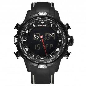 Weide Jam Tangan Analog Digital - WH6310 - Black/Black