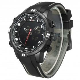 Weide Jam Tangan Analog Digital - WH6310 - Black/Black - 2