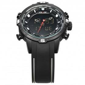 Weide Jam Tangan Analog Digital - WH6310 - Black/Black - 4
