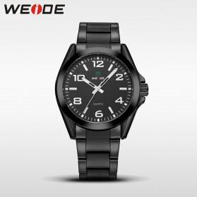 Weide Jam Tangan Analog Pria - WH801 - Black/Black
