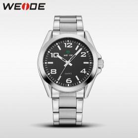 Weide Jam Tangan Analog Pria - WH801 - Silver Black