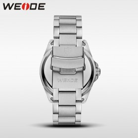 Weide Jam Tangan Analog Pria - WH801 - Silver Black - 6