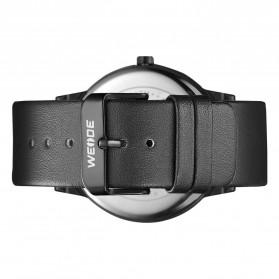 Weide Jam Tangan Kulit Analog Pria - WD001B - Black Blue - 5