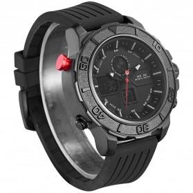 Weide Jam Tangan Analog Digital Pria - WH6108 - Black/Black - 3