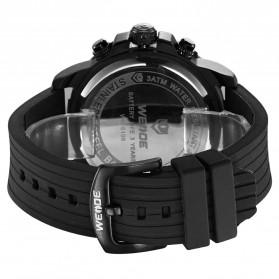Weide Jam Tangan Analog Digital Pria - WH6108 - Black/Black - 5