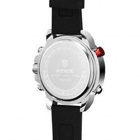 Weide Jam Tangan Analog Digital Pria - WH6108 - Silver Black - 4
