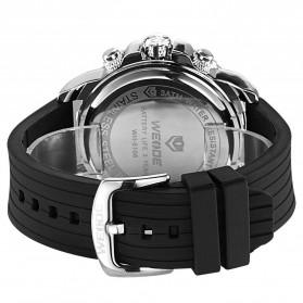 Weide Jam Tangan Analog Digital Pria - WH6108 - Silver Black - 5