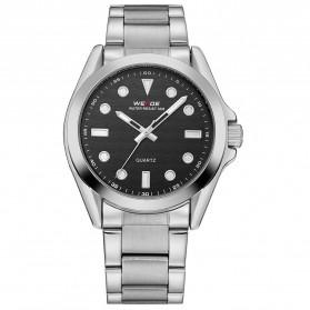 Weide Jam Tangan Analog Pria - WH802 - Silver Black