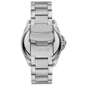 Weide Jam Tangan Analog Pria - WH802 - Silver Black - 5