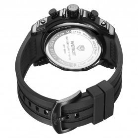 Weide Jam Tangan Analog Digital Pria - WH6903 - Black/Black - 5