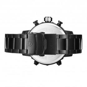 Weide Jam Tangan Analog Digital Pria - WH6905 - Black/Black - 5