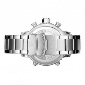 Weide Jam Tangan Analog Digital Pria - WH6905 - Silver Black - 5