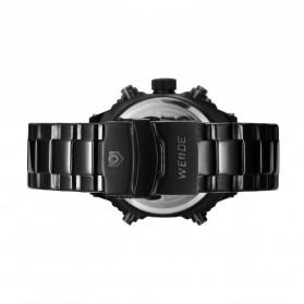 Weide Jam Tangan Analog Digital Pria - WH7302 - Black/Black - 5