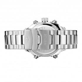 Weide Jam Tangan Analog Digital Pria - WH7302 - Silver Black - 5