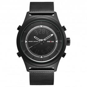 Weide Jam Tangan Analog Digital Pria - WH7305 - Black/Black