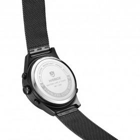 Weide Jam Tangan Analog Digital Pria - WH7305 - Black/Black - 4
