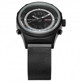 Weide Jam Tangan Analog Digital Pria - WH7305 - Black/Black - 7
