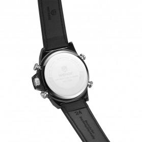 Weide Jam Tangan Analog Digital Pria - WH7309 - Black/Black - 3
