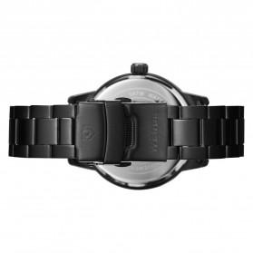 Weide Jam Tangan Analog Pria - WD002 - Black/Black - 5