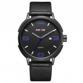 Weide Jam Tangan Analog Pria - WD004 - Black/Blue