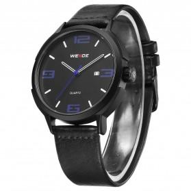 Weide Jam Tangan Analog Pria - WD004 - Black/Blue - 2