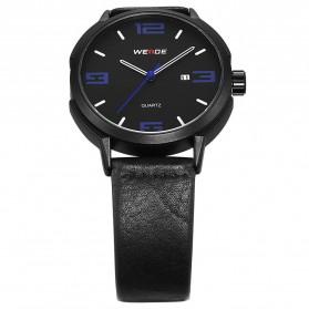 Weide Jam Tangan Analog Pria - WD004 - Black/Blue - 4