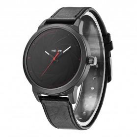 Weide Jam Tangan Analog Pria - WD005 - Black/Black - 2