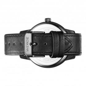 Weide Jam Tangan Analog Pria - WD005 - Black/Black - 5