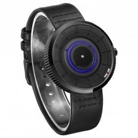 Weide Jam Tangan Analog Pria - WD006 - Black/Blue - 3