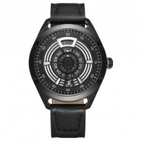 Weide Jam Tangan Analog Pria - UV1701 - Black/Black - 1